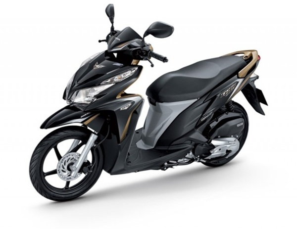 honda click 125i 2013 � black station motorbike for rent