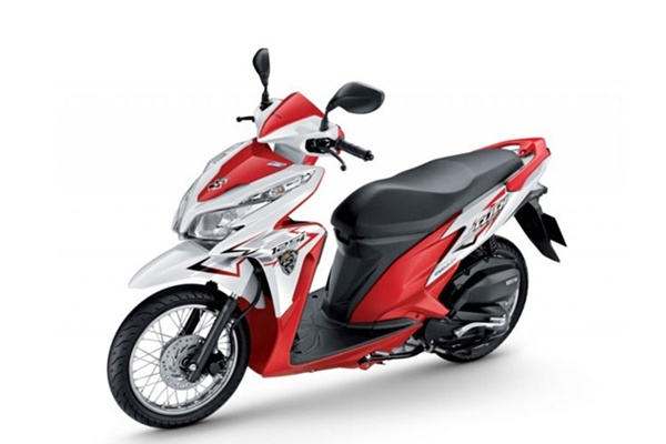 honda click 125i 2013 � red station motorbike for rent